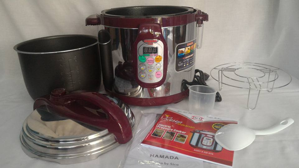 electric pressure cooker sico hamada