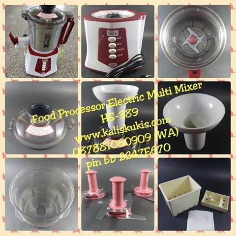 Parts of Food Processor Electric Multi Mixer