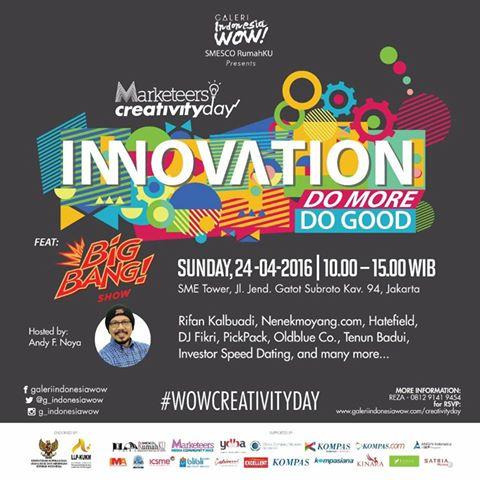 flyer creativity day